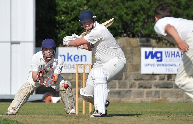 Two of the top teams in the Aire-Wharfe League in action, Otley and North Leeds Picture: Richard Leach