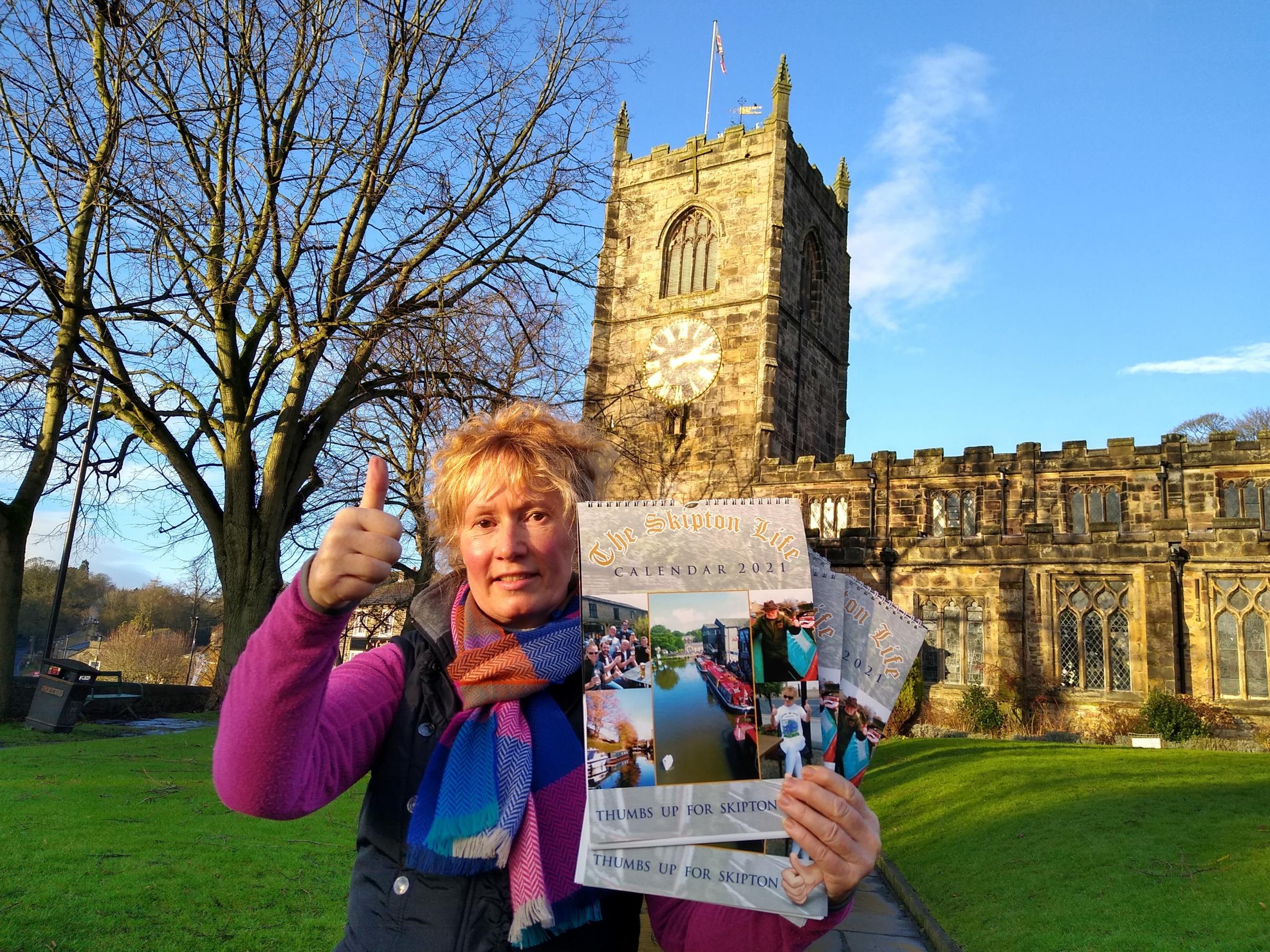 Sales of 2021 Skipton Life calendar going well
