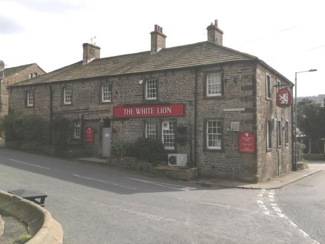 The White Lion, Kildwick. Pictured when it was empty, in March, 2019