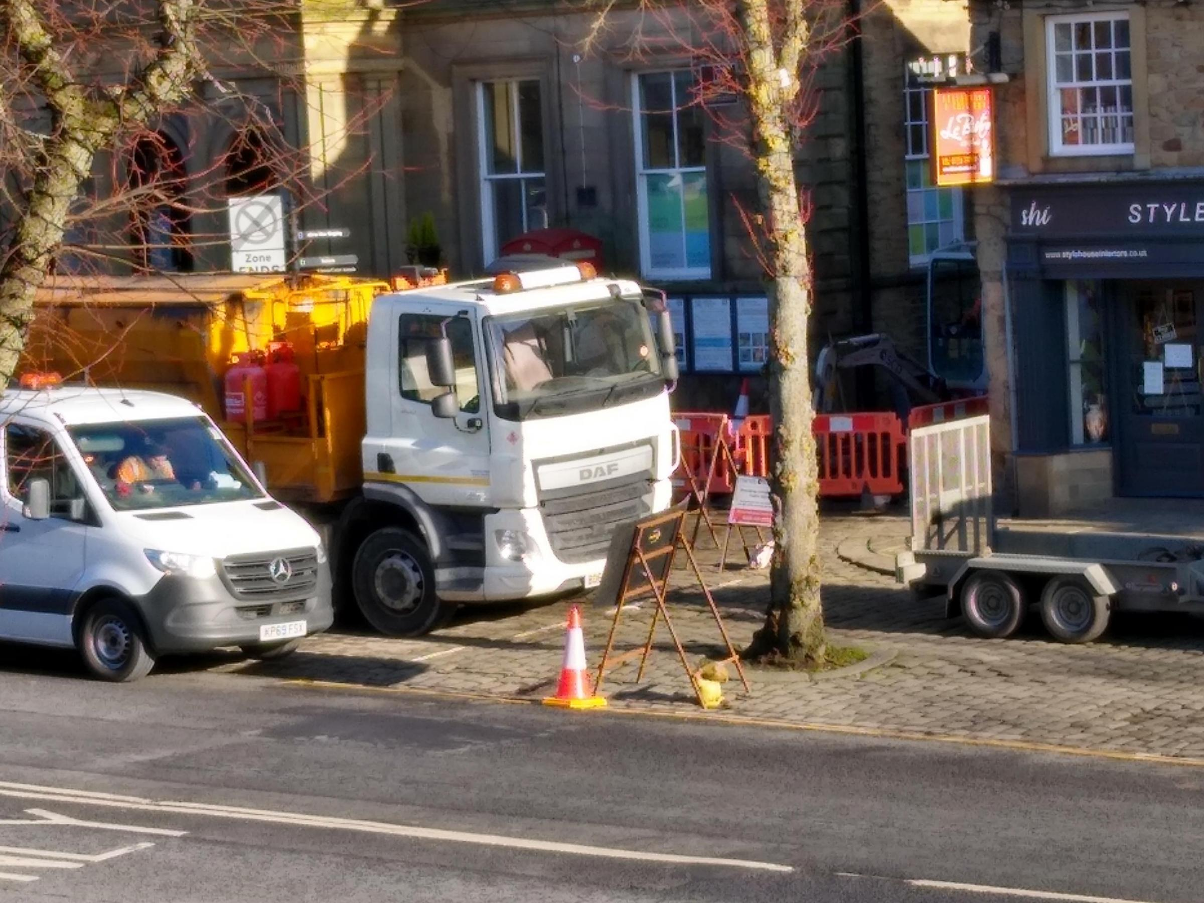 Skipton's Jerry Croft closed for five days for broadband work