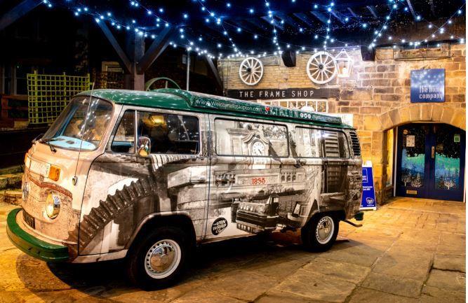 Skipton landlord's VW campervan helps raise money for Parkinson's UK
