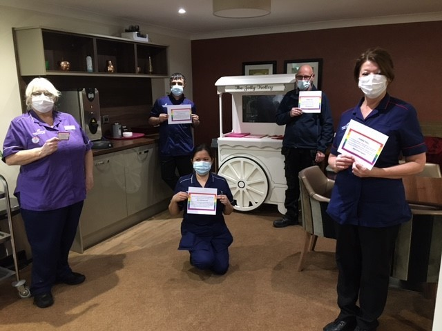 Staff and residents have jab at care home