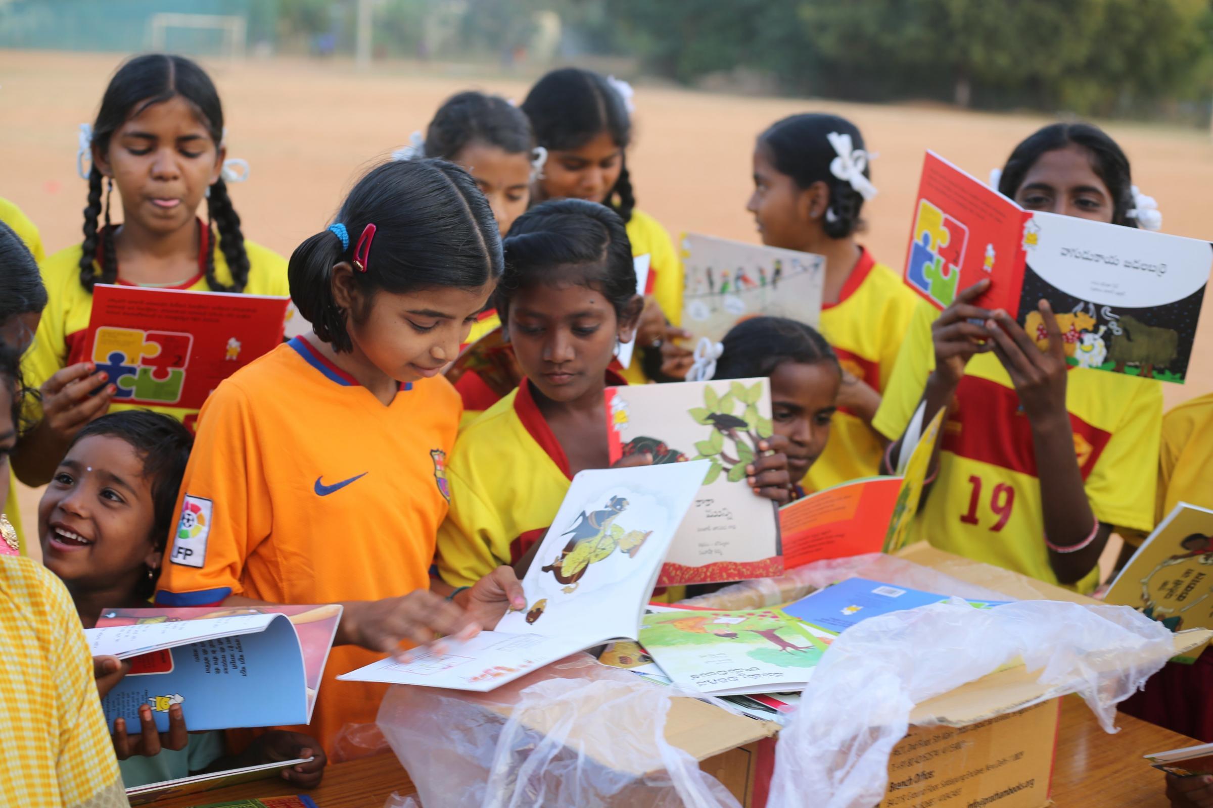 Fundraising helps children in rural India