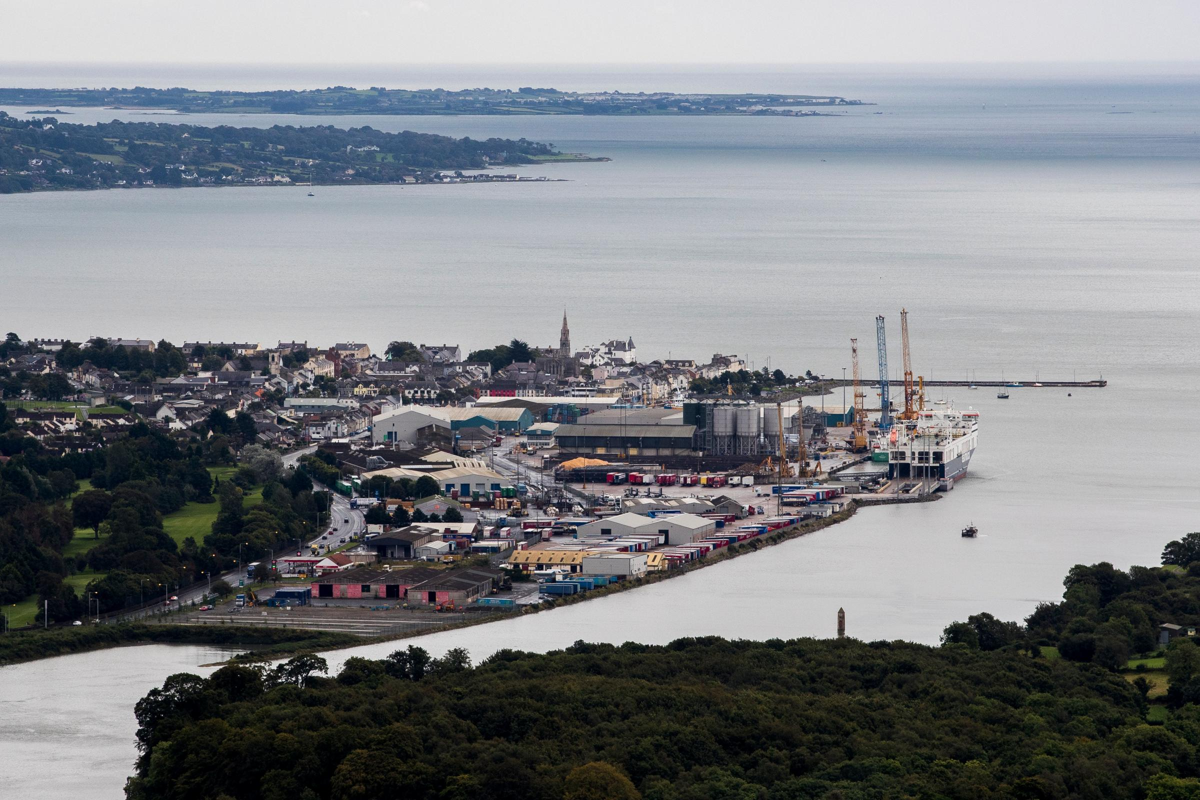 'Steady' flow of trade at Northern Ireland's ports under new arrangements