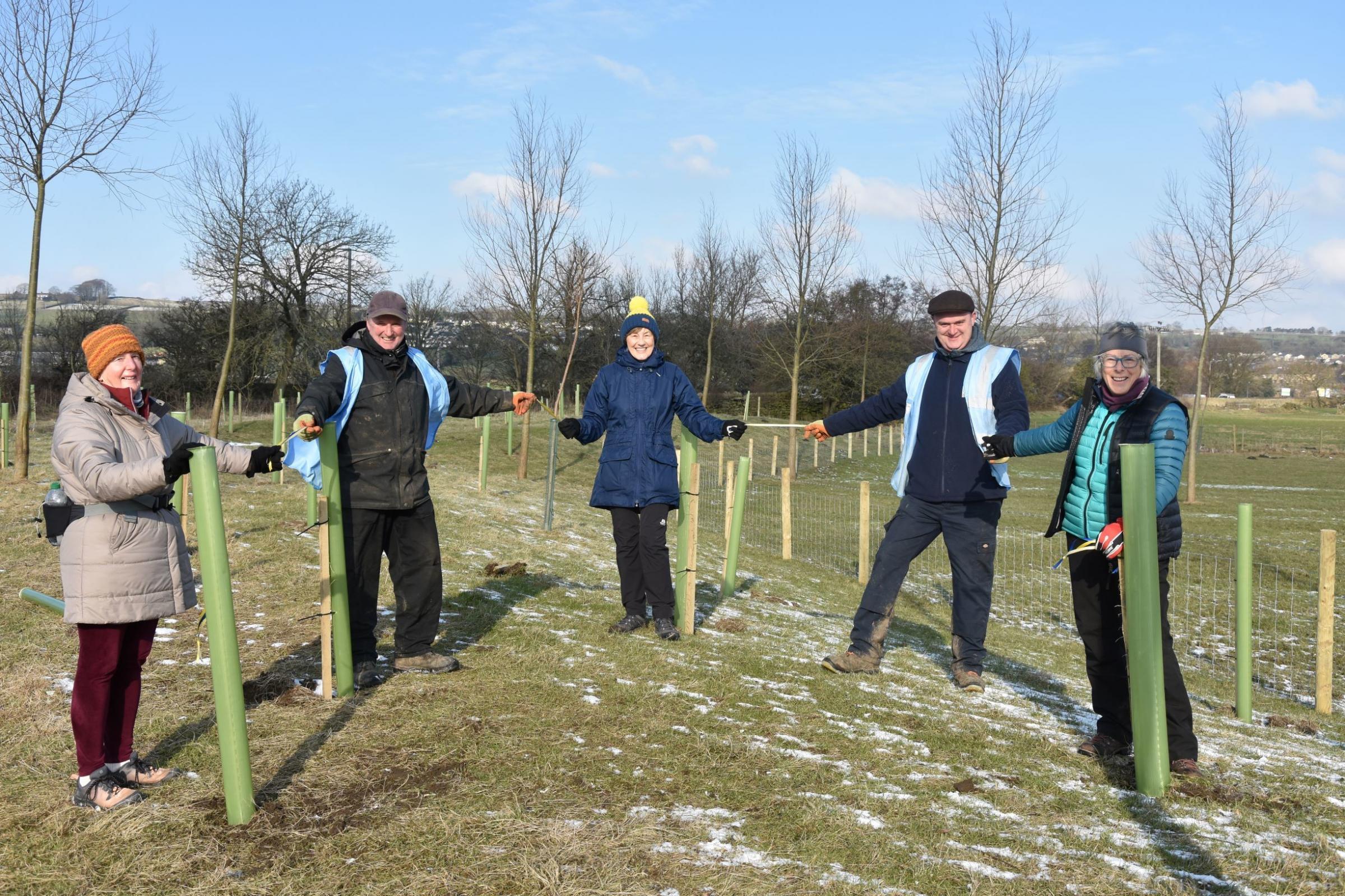 Soroptimists plant trees in centenary year