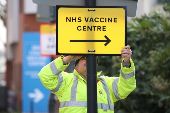 Reader says vaccine's should be available in-car at Gateway House, Skipton. File photo