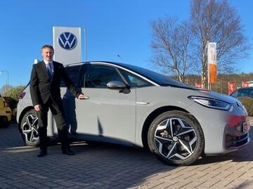 Allan McGovern, on-site EV ambassador at Vertu Volkswagen Skipton