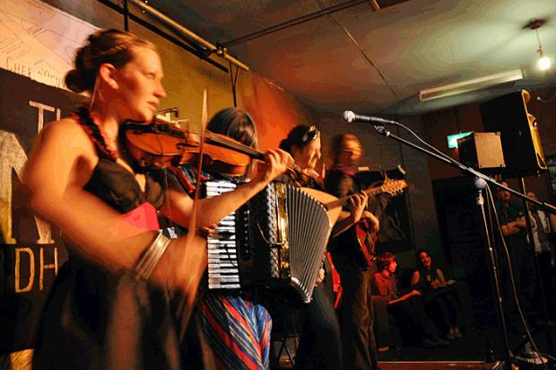 Live music: The Monster Ceilidh Band