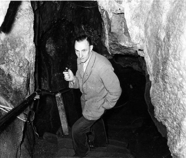 George Gill, former owner of Stump Cross Caverns
