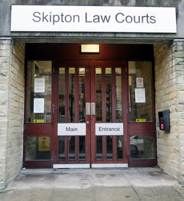 Steele appeared at Skipton Magistrates' Court