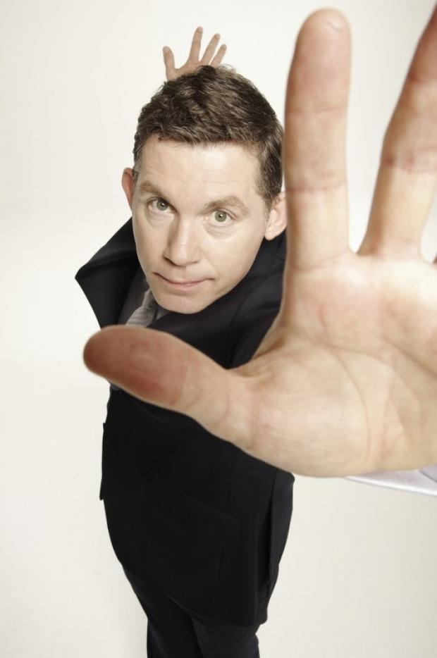 Lee Evans ready to 'warm-up' Grassington Festival