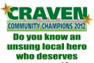 Nominate a local hero for a Craven Community Champions award
