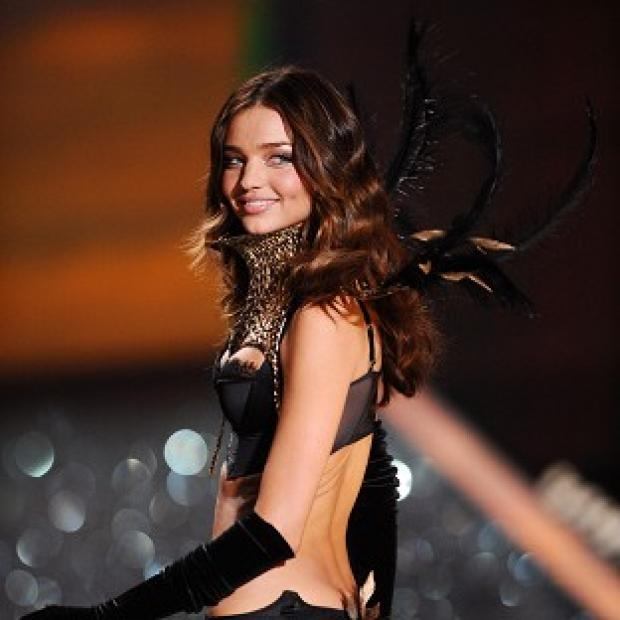 Miranda Kerr doesn't like her husband to watch her on the catwalk