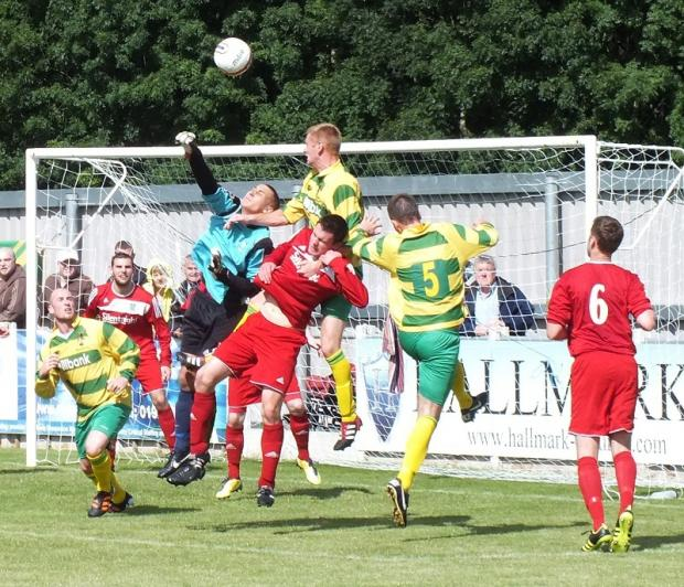 Marko Marosi was outstanding for Barnoldswick