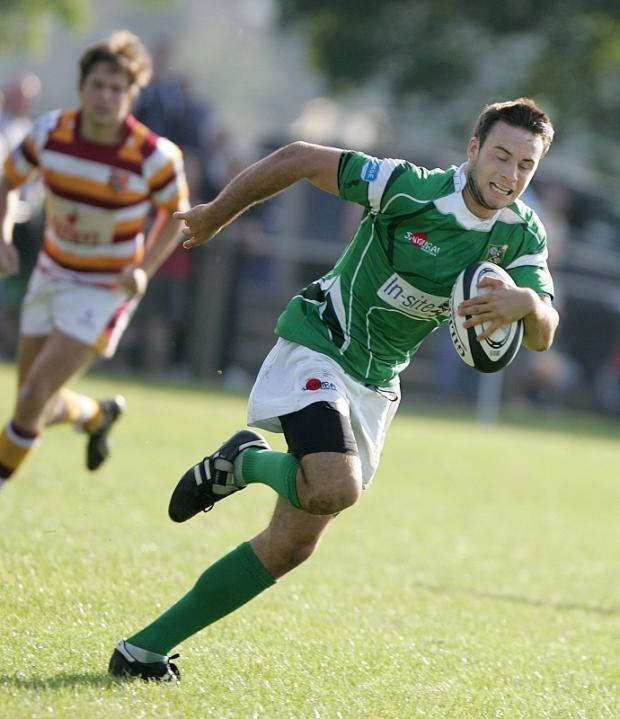 Christian Georgiou kicked five penalties for Wharfedale
