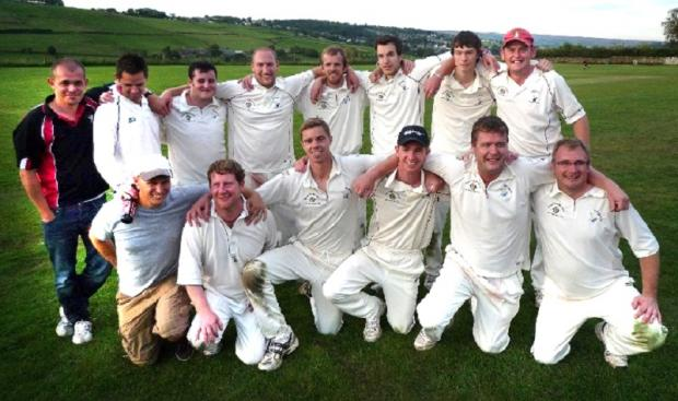 Haworth celebrate their title triumph