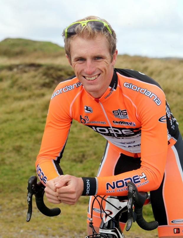 Craven Herald: Pete Williams won the sprint classification
