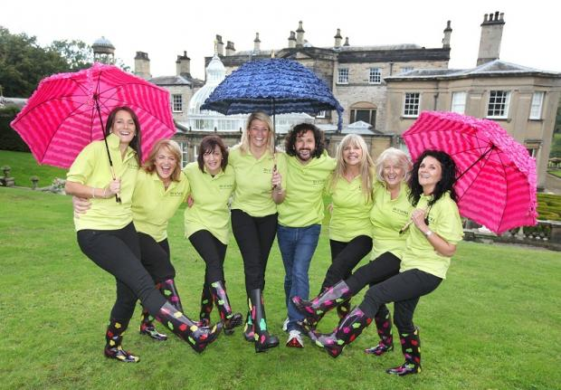 The launch of this year's Relay for Life at Broughton Hall. Picture shows Janet Hartley, Karen Weaving, Julie Watson, Liz Mitchell, Roger Tempest, Karen Mendores, Connie Moore, Yvonne Canning