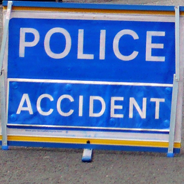 Police investigate an accident on Gargrave Road, Skipton