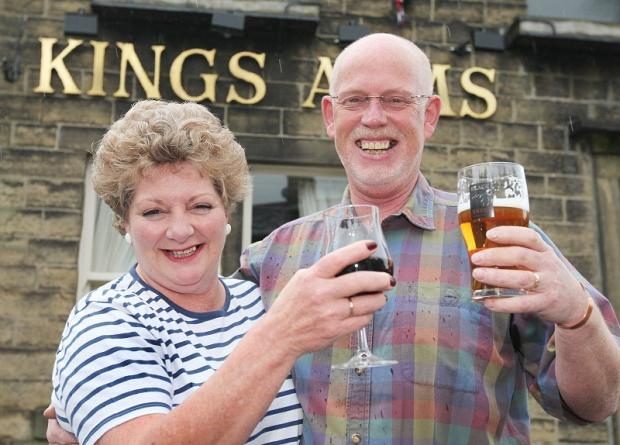 Licensees Steve and Sue Morgan