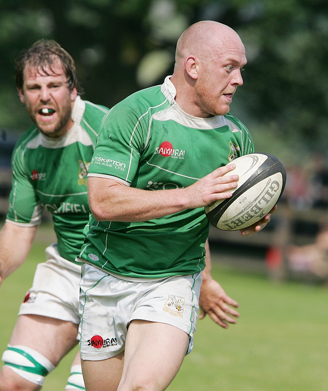 Wharfedale hooker Steve Graham put them on the board