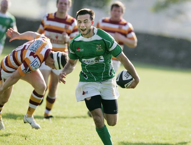 Christian Georgiou will provide all-round talent for Wharfedale at full back
