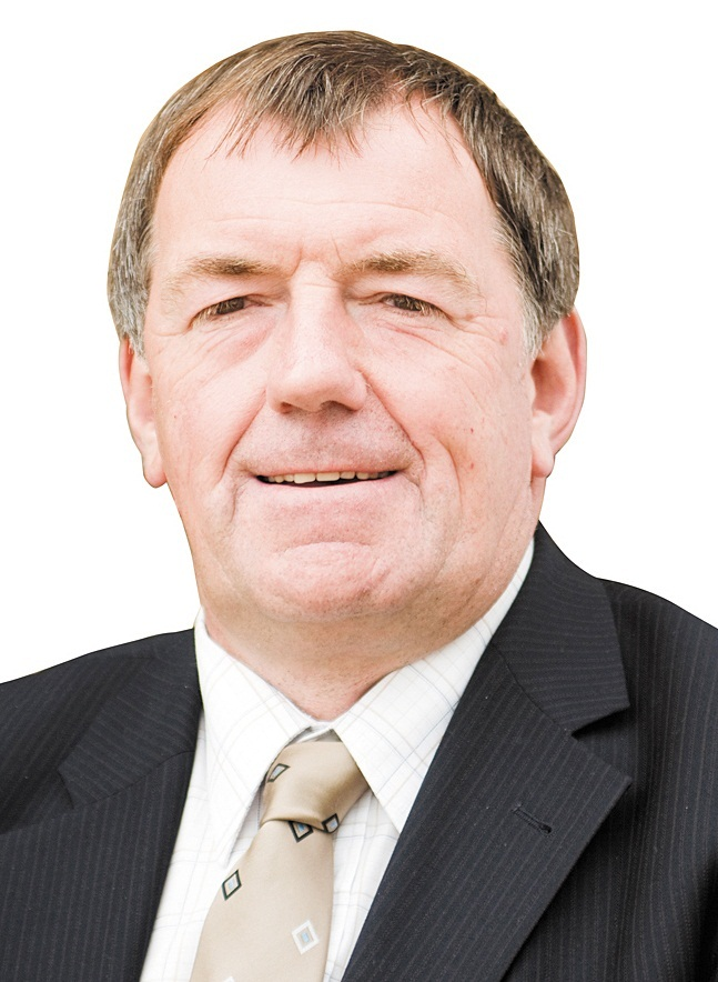 County Councillor Richard Welch