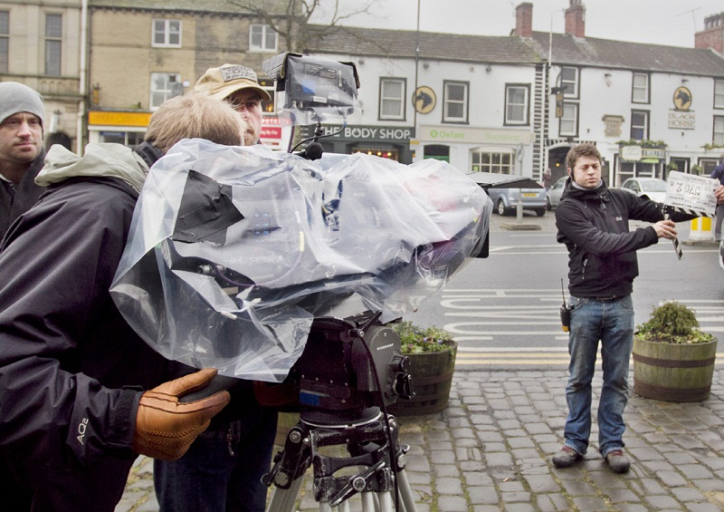 Part of the filming for Last Tango In Halifax takes place on Skipton High Street