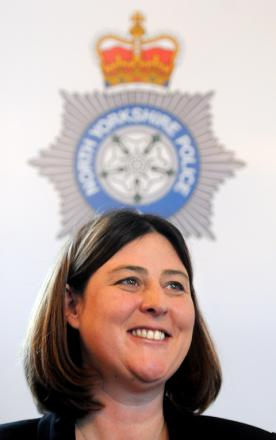 Police and crime commissioner Julia Mulligan