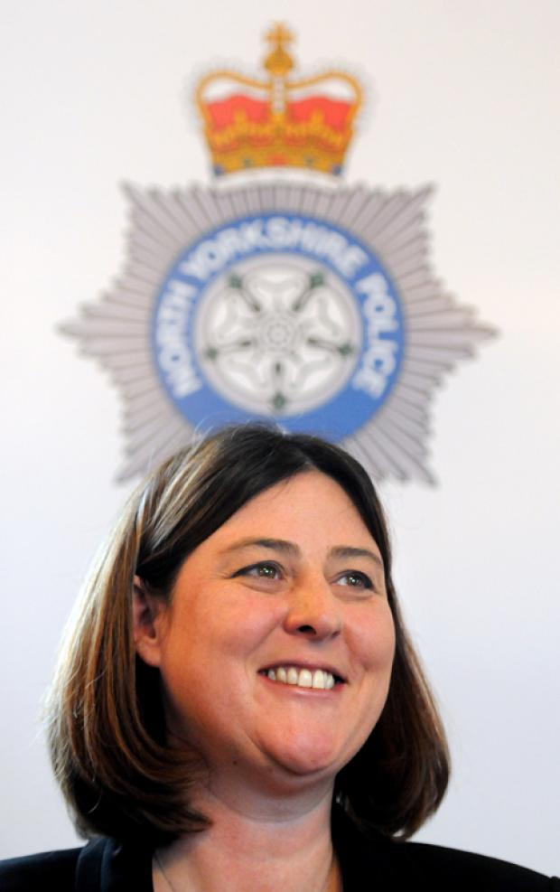 Police Crime Commissioner for North Yorkshire Julia Mulligan