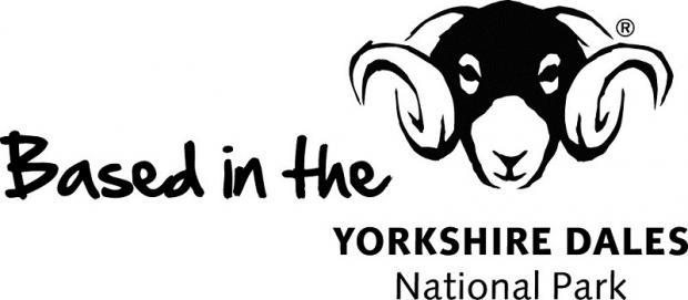 The park's registered trademark – the famous Swaledale ram's head logo