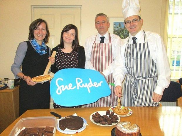 Judging of the Great Partners' Bake-off