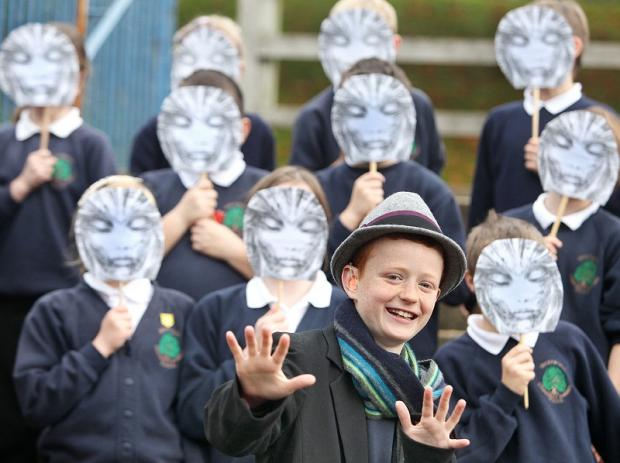 Greatwood Primary School pupil Finlay Burkinshaw discovers a sinister side to his classmates