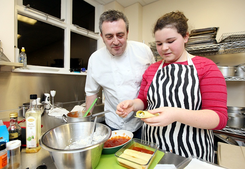 Students put skills to the test in Rotary Young Chef competition