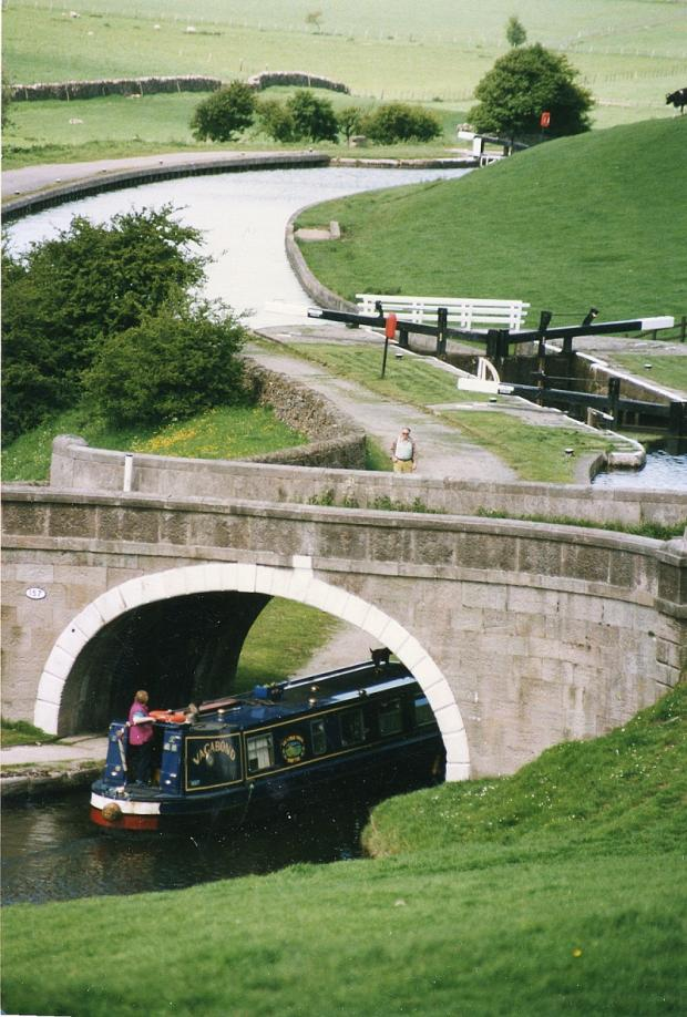 Greenberfield Locks in Barnoldswick