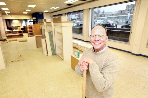 Anthony Blackburn will be opening Handpicked Hall, a business which provides space for individual traders to sell their wares