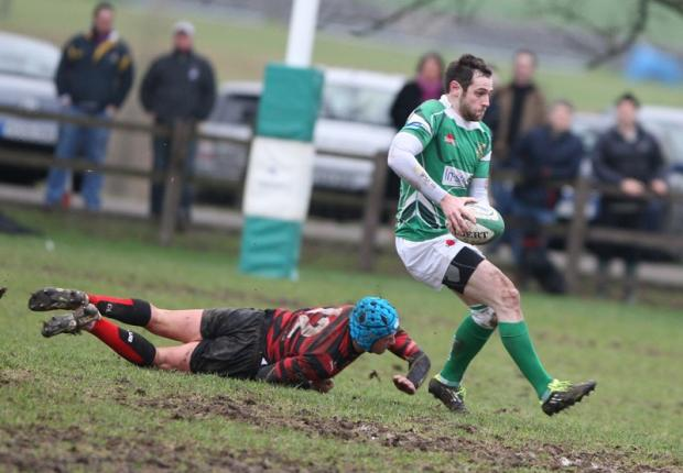 Adam Whaites in action against Blackheath