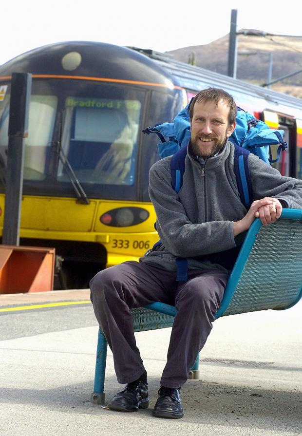 Tim Callow of the Aire Valley Rail Users Group