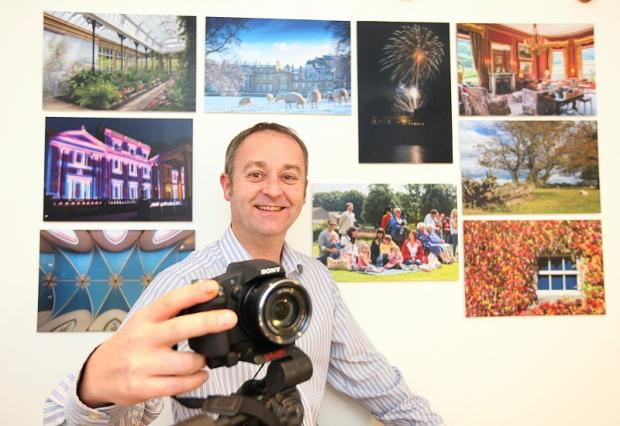 Jeremy Knowles was the winner of the £1,000 first prize in the  Broughton Hall photography competition