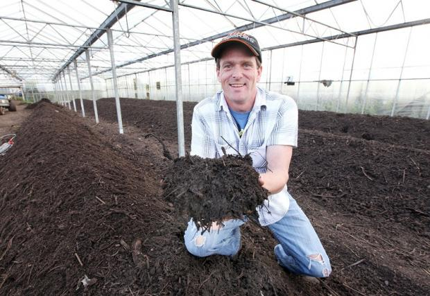 Composting Coordinator Robert Staveley