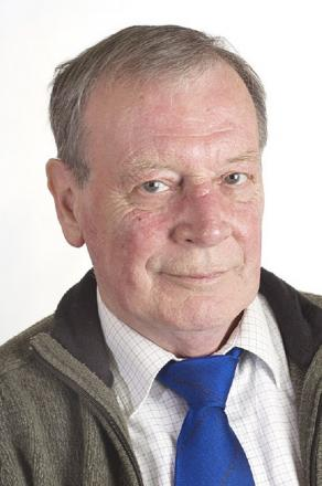 Councillor Ken Hartley, chairman of Barnoldswick Town Council