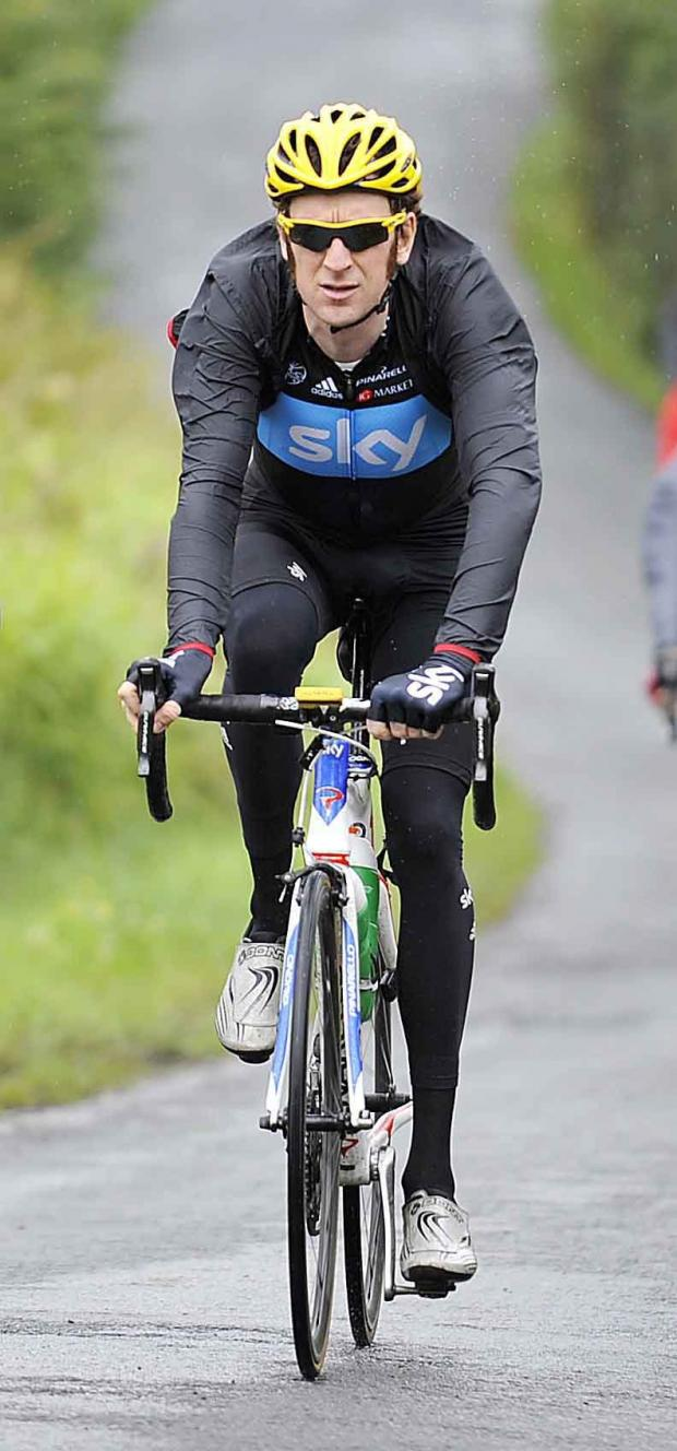Reigning champion and Olympic hero Bradley Wiggins