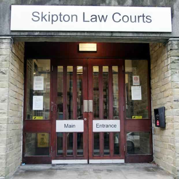 Binns appeared at Skipton Magistrates' Court