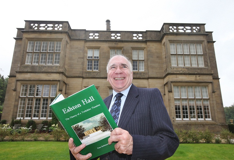 Author revisits school days with look at Eshton Hall's history