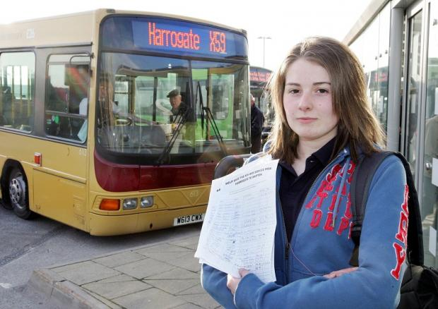 Catherine Walker, who tried to save the bus service