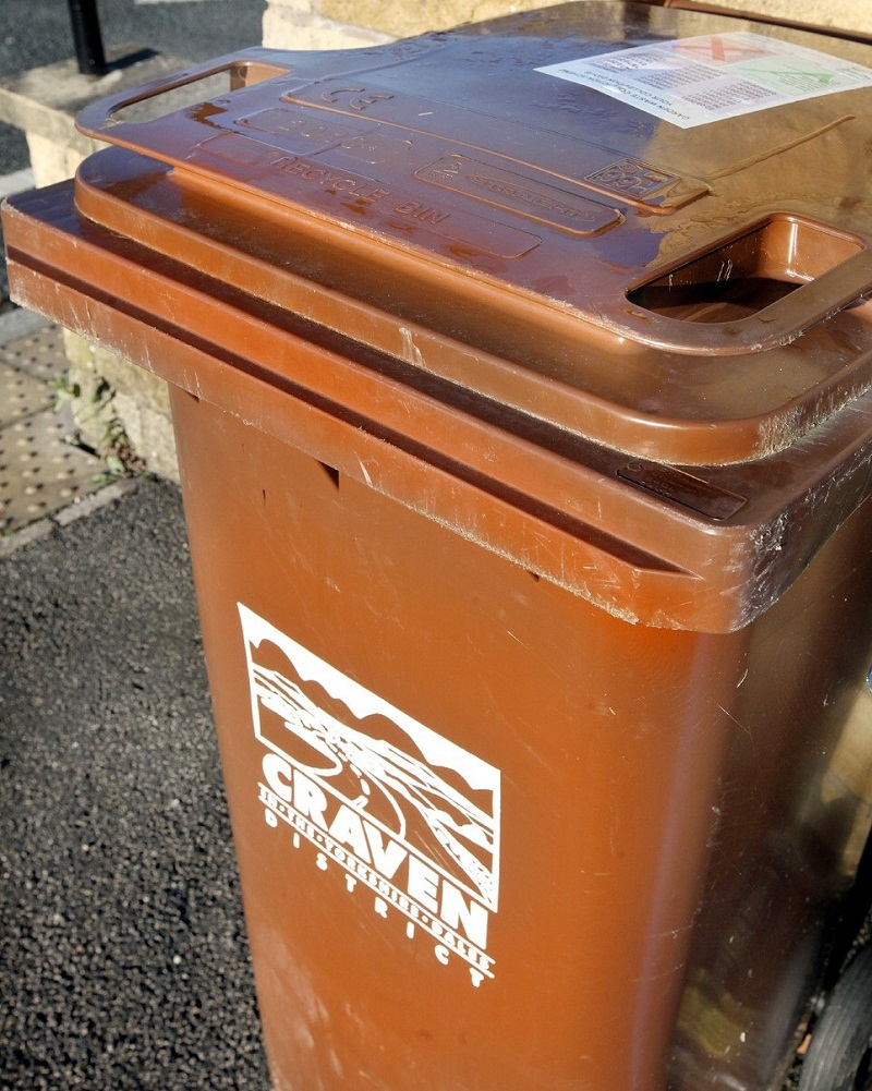 Garden waste collections in Craven have restarted