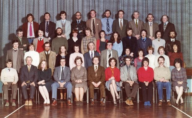 Aireville School teachers from the 1980s