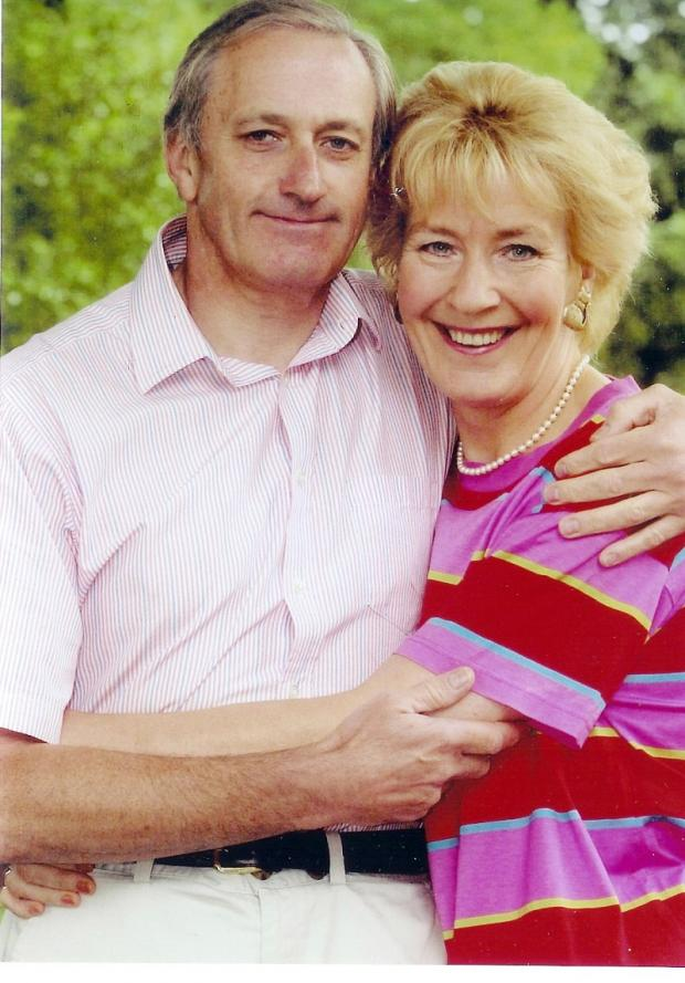 PANELIST: Neil Hamilton with his wife Christine