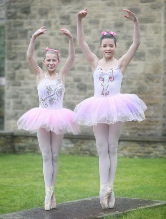 Emily Paul and Hannah Eastham have been selected to appear in a National Youth Ballet production of Coppelia