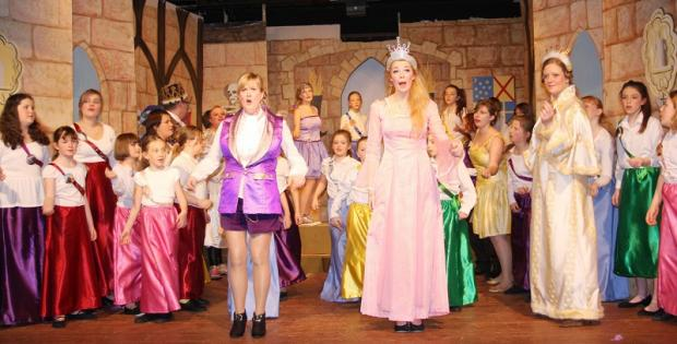 Addingham Pantomime Group in Sleeping Beauty